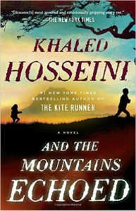 And The Mountains Echoed - Khaled Hosseini - Must-read Book List