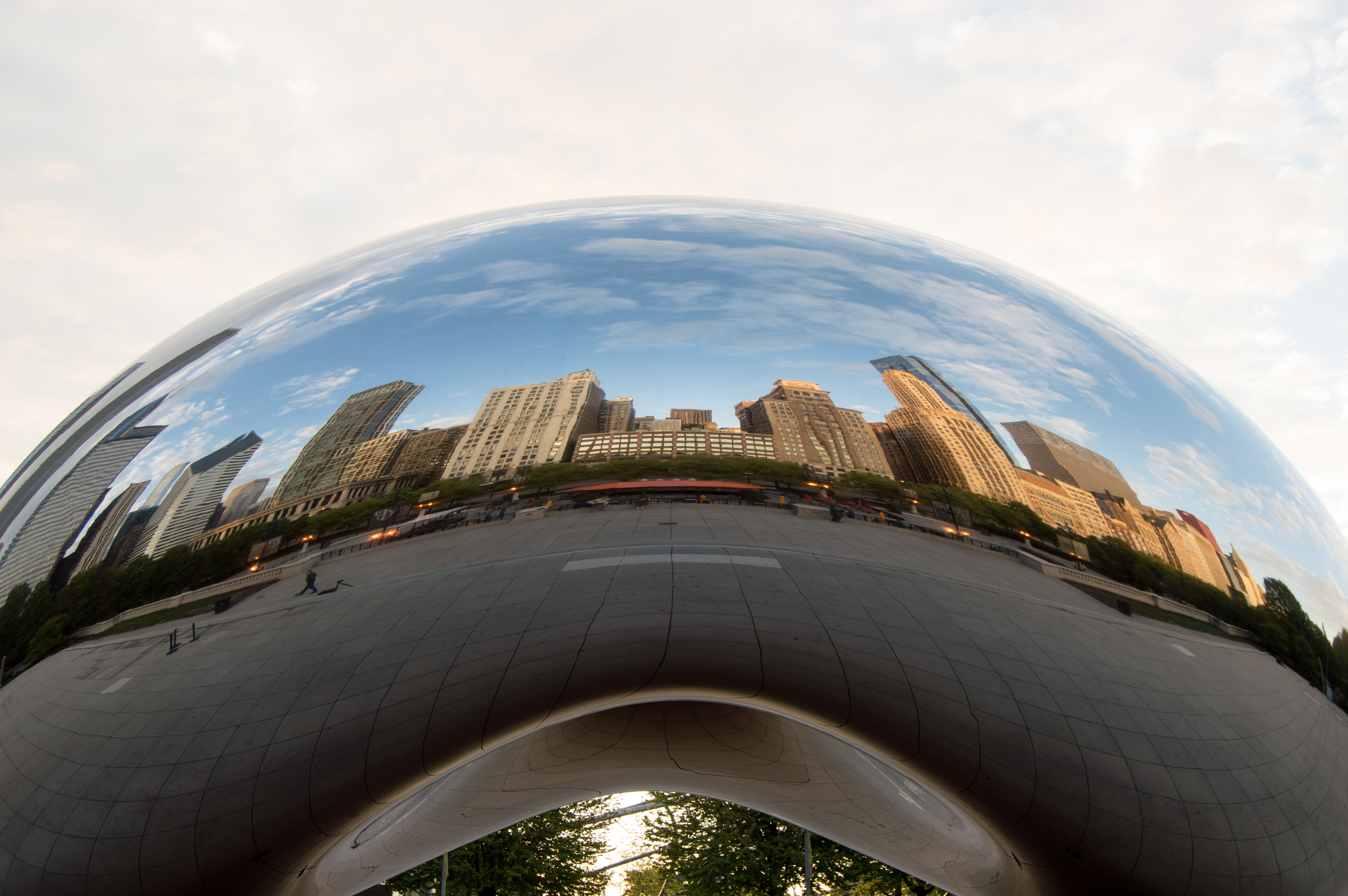 Chicago - millennium park - chicago, illinois - the bean