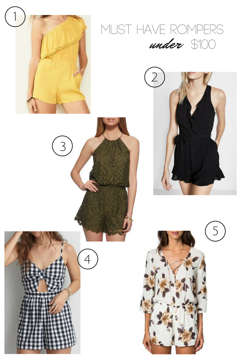 must-have summer rompers