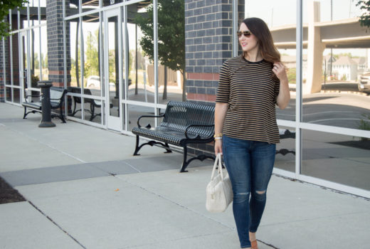who what wear striped tee - target style