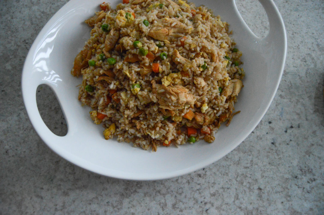 homemade chicken fried rice recipe