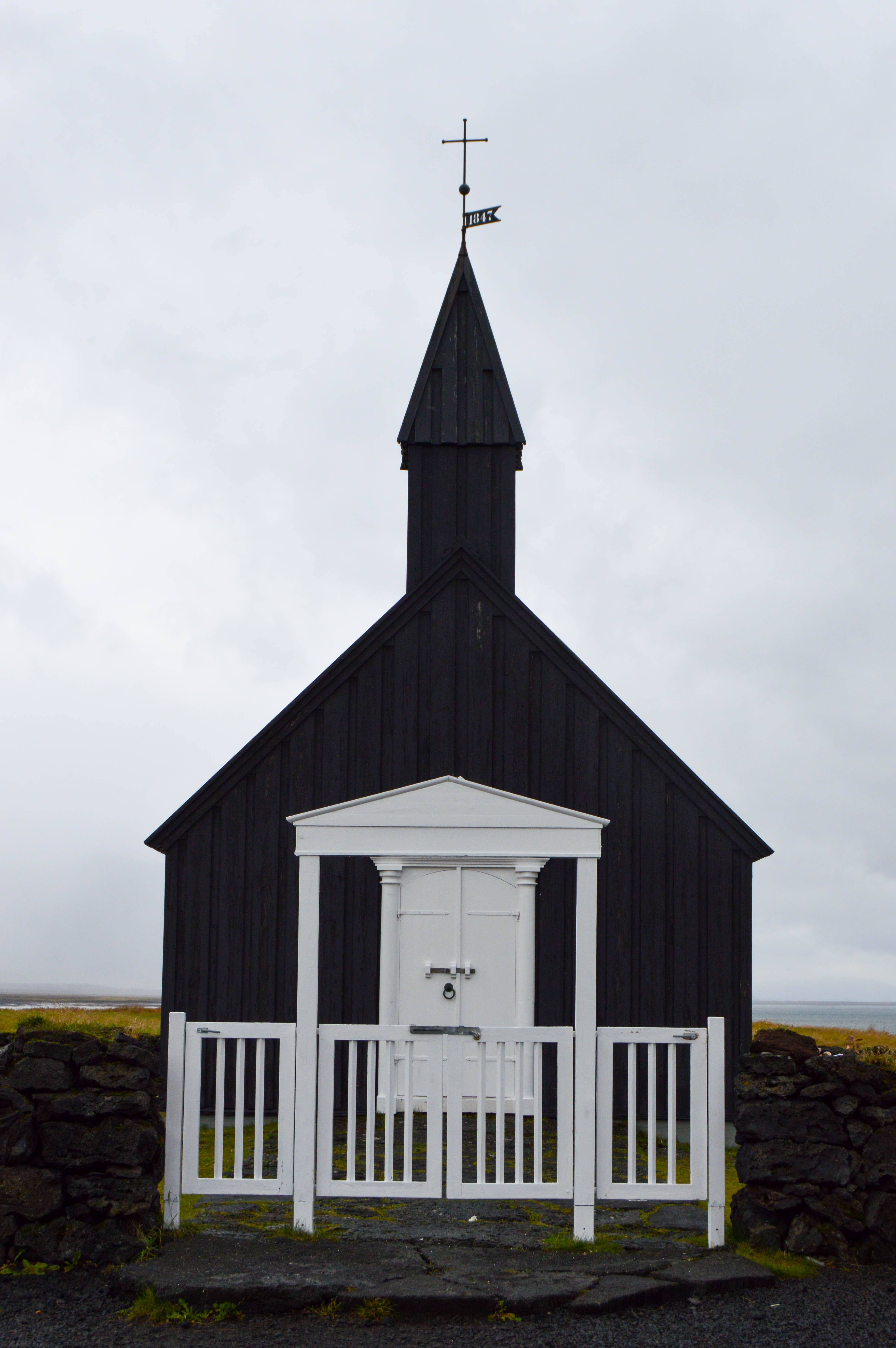 Snaefellsnes PeninsulaBudir - the black church - Iceland