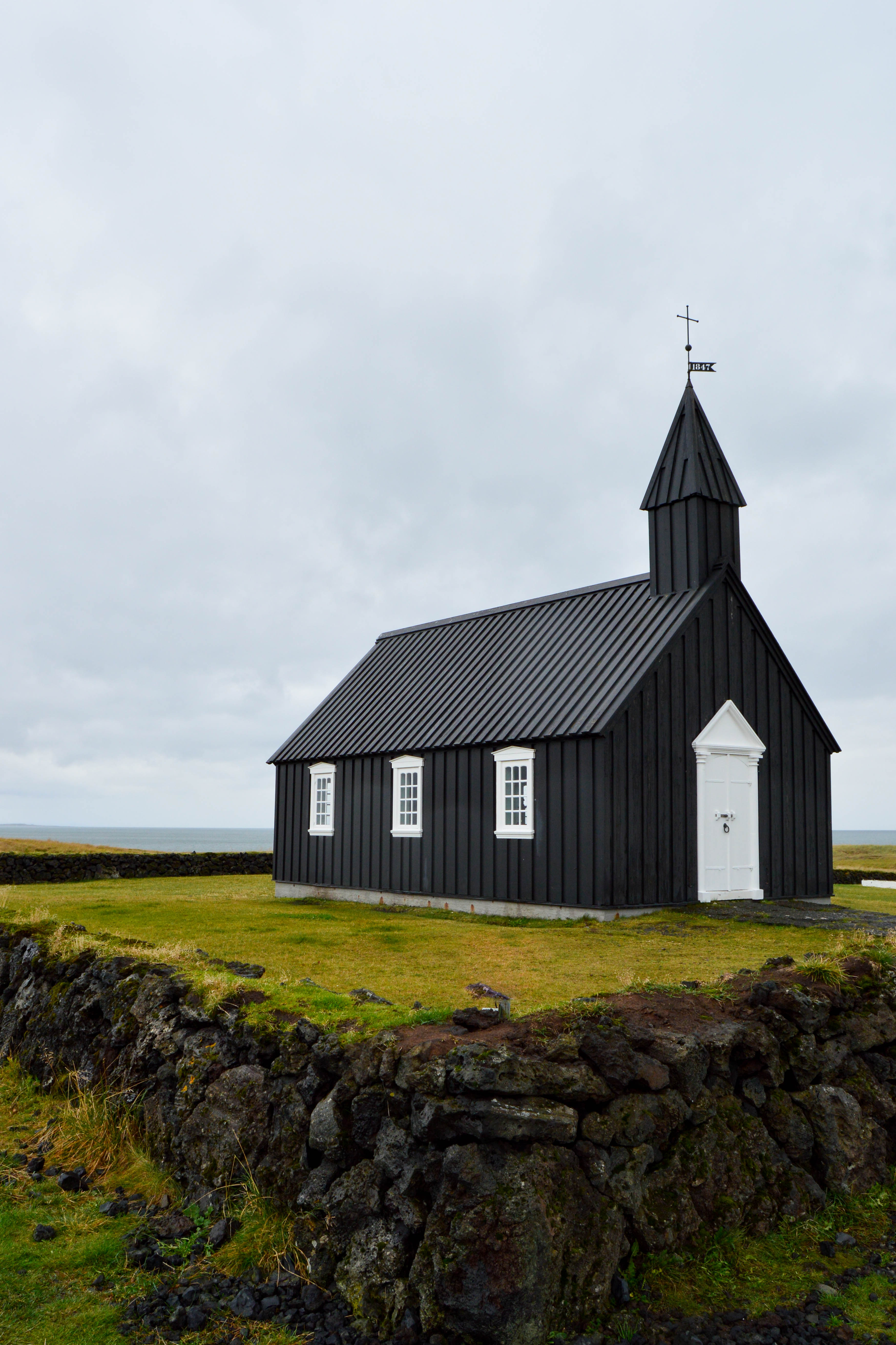 Snaefellsnes Peninsula - Budir - the black church - Iceland