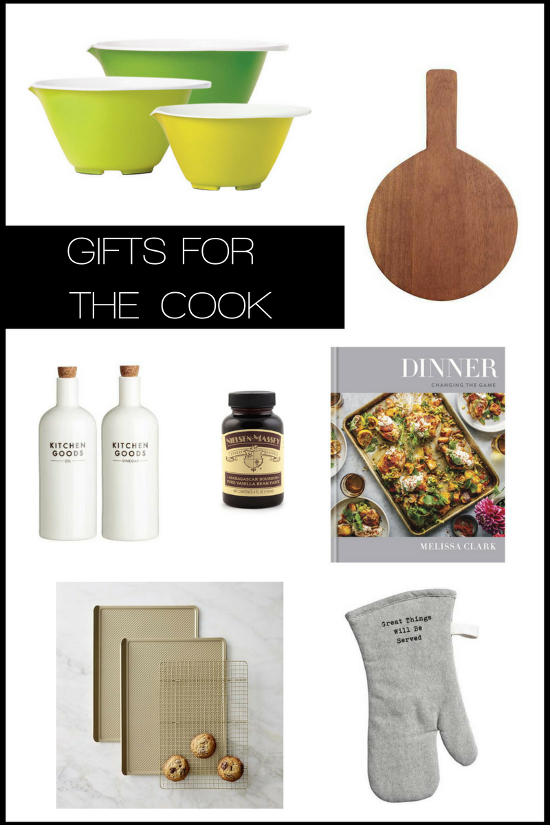 gift ideas for a cook 2017