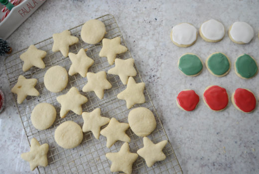 christmas sugar cookies - holiday traditions