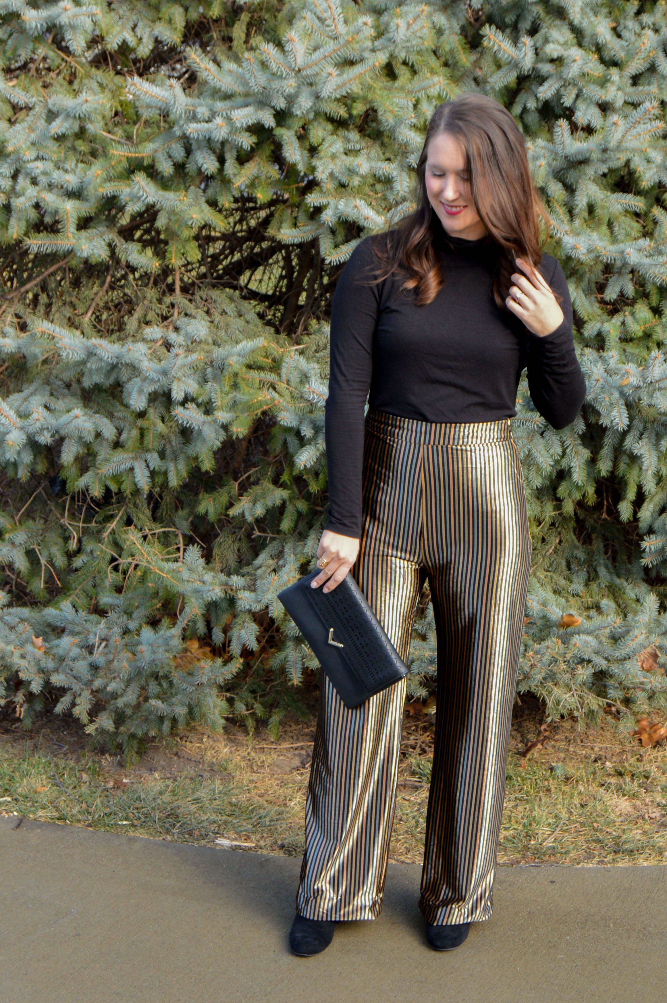 new years eve outfit - velvet pants zara - pajama pant trend