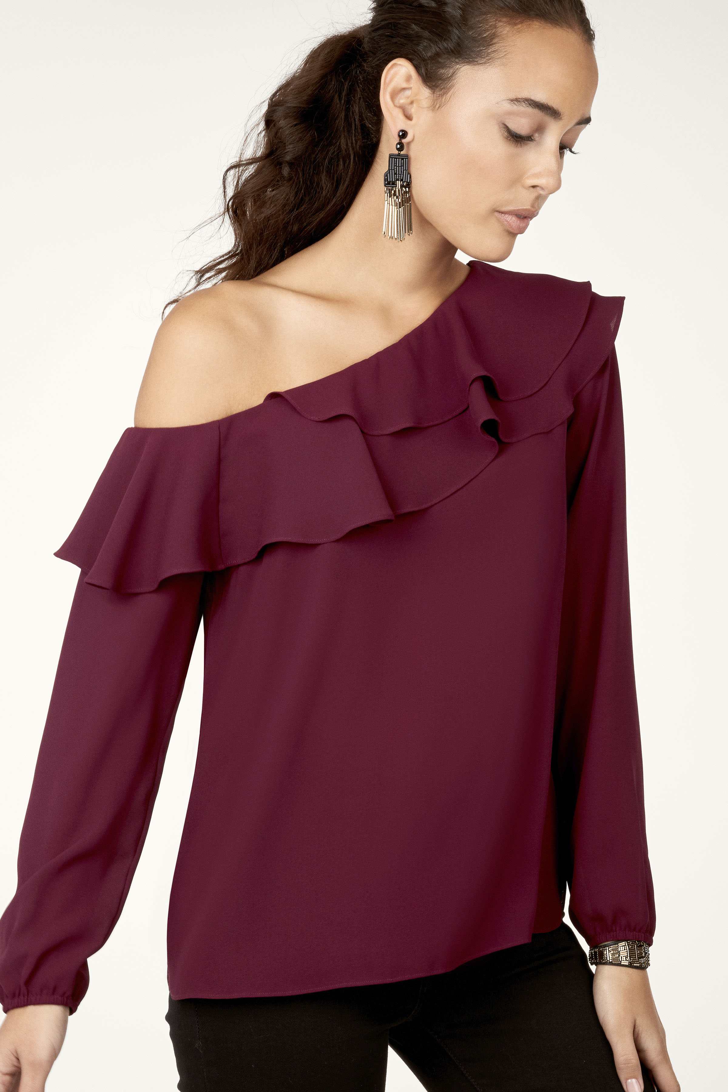 Stella & Dot gift guide - Roz one shoulder top
